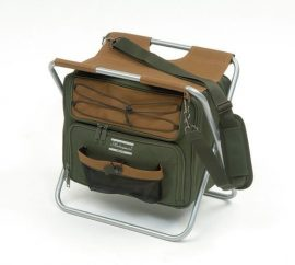 Shakespeare stool with cooler bag