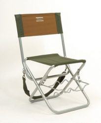 Shakespeare folding chair with rod rest