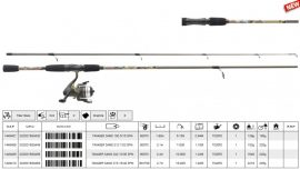Mitchell tanager camo 212 7-20 g spin