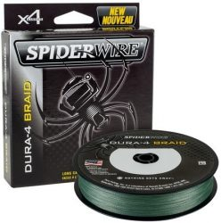 Spiderwire Dura 4x 300m 0.35mm/35.0kg-77lb moss green
