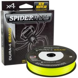 Spiderwire Dura 4x 300m 0.14mm/11.8kg-26lb yellow